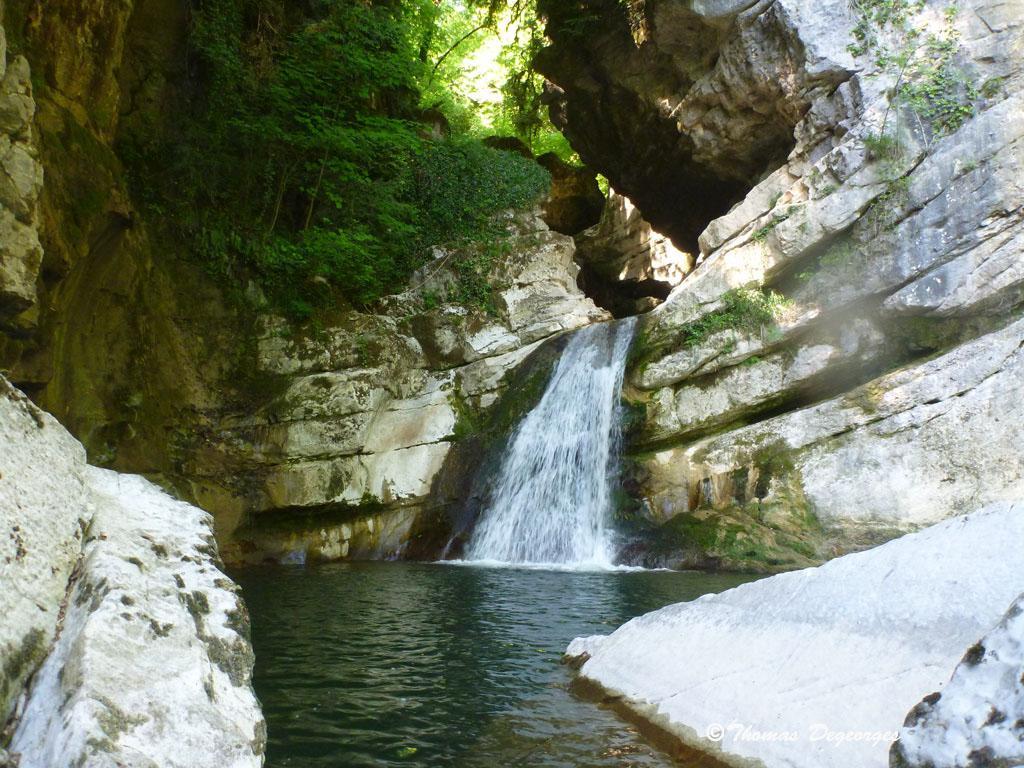 Canyon Du Groin; Bugey(Ain); Canyoning Avec Cap Oupakap Nature