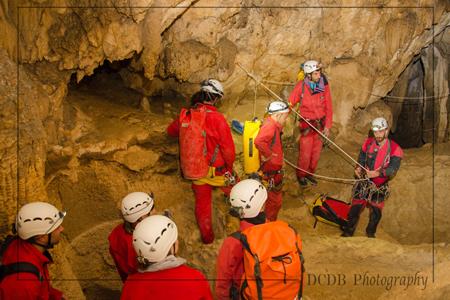 Grotte de Gournier; Vercors (Isère); spéléo avec Cap Oupakap Nature