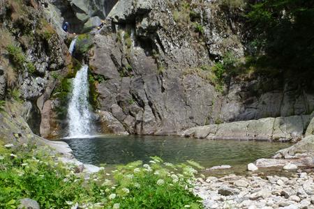 Canyon de la Haute Borne; Ardèche; canyoning avec Cap Oupakap Nature