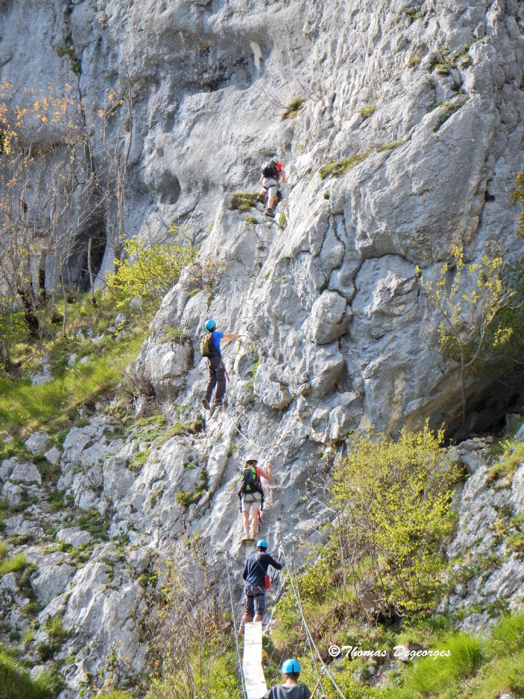 Via De Saint Pierre D'Entremont; Chartreuse (Savoie); Via-ferrata Avec Cap Oupakap Nature